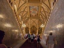 O parlamento de Budapest Foto de Stock