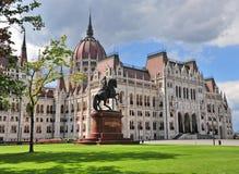 O parlamento de Budapest, Hungria Imagem de Stock