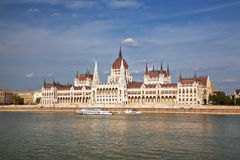 O parlamento de Budapest Imagem de Stock