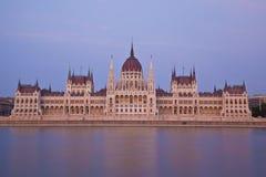 O parlamento de Budapest Imagens de Stock