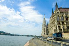 O parlamento de Budapest que constrói 1 Imagens de Stock