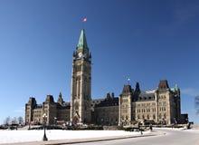 O parlamento de Canadá Imagens de Stock Royalty Free