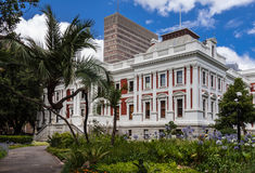 O parlamento de Cape Town fotos de stock royalty free