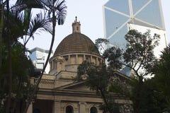 O parlamento de Hong Kong fotografia de stock royalty free