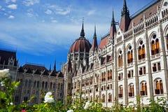 O parlamento de Hungria Imagem de Stock