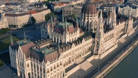 O parlamento de Hungria em Budapest filme