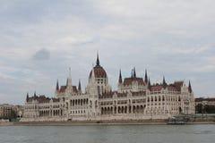 O parlamento de Hungria (Orszaghaz) Foto de Stock Royalty Free