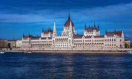 O parlamento de Hunguarian - Budapest - Hungria Imagens de Stock Royalty Free