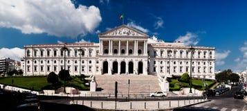 O parlamento de Lisboa Imagens de Stock