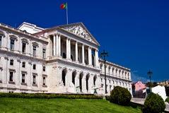 O parlamento de Lisboa Imagem de Stock