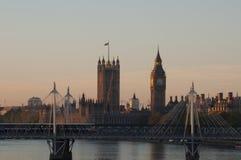 O parlamento de Londres Fotografia de Stock Royalty Free