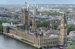 O parlamento de Londres e Ben grande Imagem de Stock Royalty Free