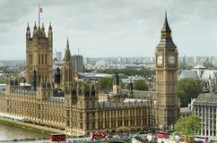 O parlamento de Londres e Ben grande Imagens de Stock