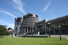 O parlamento de Nova Zelândia Fotos de Stock Royalty Free