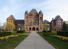 O parlamento de Ontário Fotos de Stock
