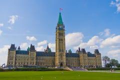 O parlamento de Ottawa de Canadá foto de stock