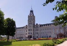 O parlamento de Quebeque Fotografia de Stock