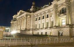 O parlamento de Reichstag que constrói Berlim principal Alemanha Foto de Stock Royalty Free