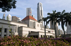 O parlamento de Singapore abriga Fotografia de Stock