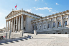 O parlamento de Viena Fotos de Stock