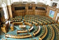 O parlamento dinamarquês Imagem de Stock Royalty Free