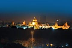 O parlamento do estado de Karnataka abriga na cidade de Bangalore, Índia imagem de stock royalty free
