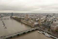 O parlamento do Reino Unido Fotos de Stock Royalty Free