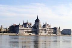 O parlamento em Budapest Fotografia de Stock