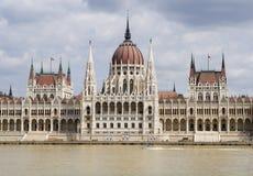 O parlamento em Budapest Fotos de Stock Royalty Free