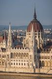 O parlamento em Budapest, Hungria Imagens de Stock