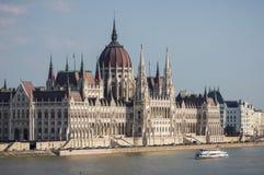 O parlamento em Budapest, Hungria Fotografia de Stock