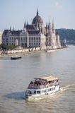 O parlamento em Budapest, Hungria Fotos de Stock Royalty Free