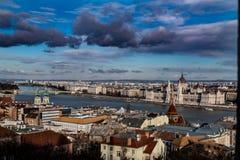 o parlamento em Budapest, Hungria fotografia de stock royalty free