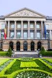 O parlamento federal belga fotos de stock