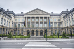 O parlamento federal em Bruxelas, Bélgica foto de stock royalty free