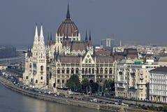 O parlamento húngaro Fotografia de Stock Royalty Free