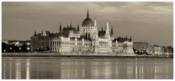 O parlamento húngaro Imagens de Stock Royalty Free
