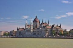 O parlamento húngaro Imagens de Stock