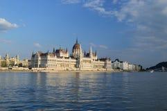 O parlamento húngaro Imagem de Stock
