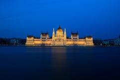 O parlamento húngaro Imagem de Stock Royalty Free
