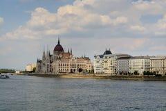 O parlamento húngaro, Budapest Imagens de Stock Royalty Free