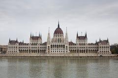 O parlamento húngaro, Budapest imagem de stock