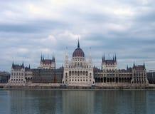 O parlamento húngaro - Budapest imagens de stock