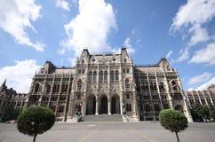 O parlamento húngaro em Budapest Imagens de Stock Royalty Free