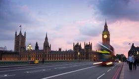 O parlamento, Kindom Londres-unido Fotografia de Stock Royalty Free