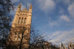 O parlamento, Londres Fotos de Stock Royalty Free