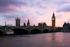 O parlamento, Londres-vintage Foto de Stock