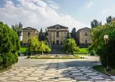 O parlamento nacional de Yerevan imagem de stock