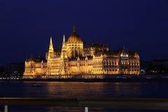 O parlamento o mais bonito que constrói nunca Fotografia de Stock