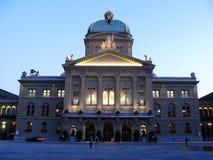 O parlamento suíço 01, Berna, Switzerland Imagem de Stock